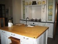 Baltic pine kitchen bench 1