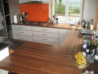 Walnut Kitchen Bench