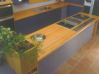 NZ ash kitchen bench 25