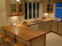 Oak kitchen bench 26