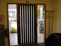 Wenge entrance door